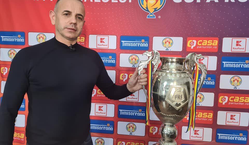 VIDEO   Cupa României, în traseu itinerant prin țară. Faimosul trofeu a ajuns și în Bârsana