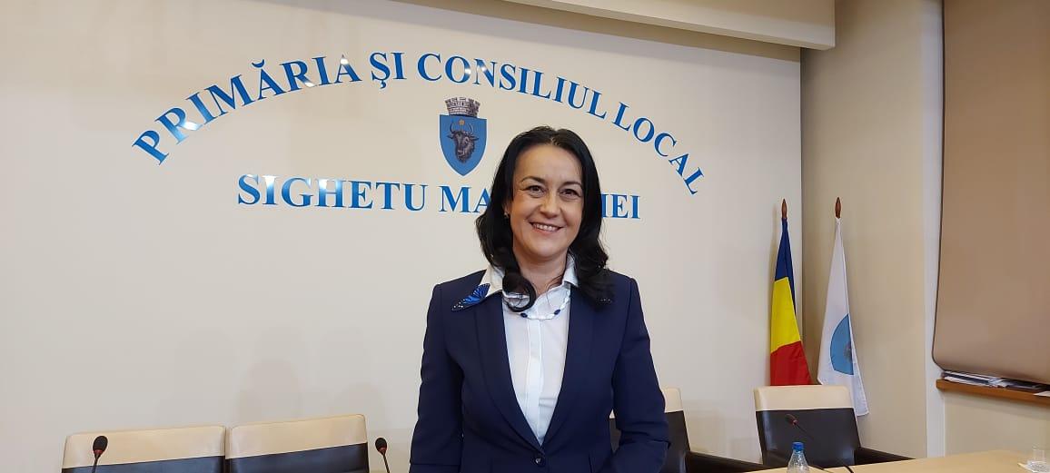Daniela Onița Ivașcu este noul viceprimar al municipiului Sighetu Marmației