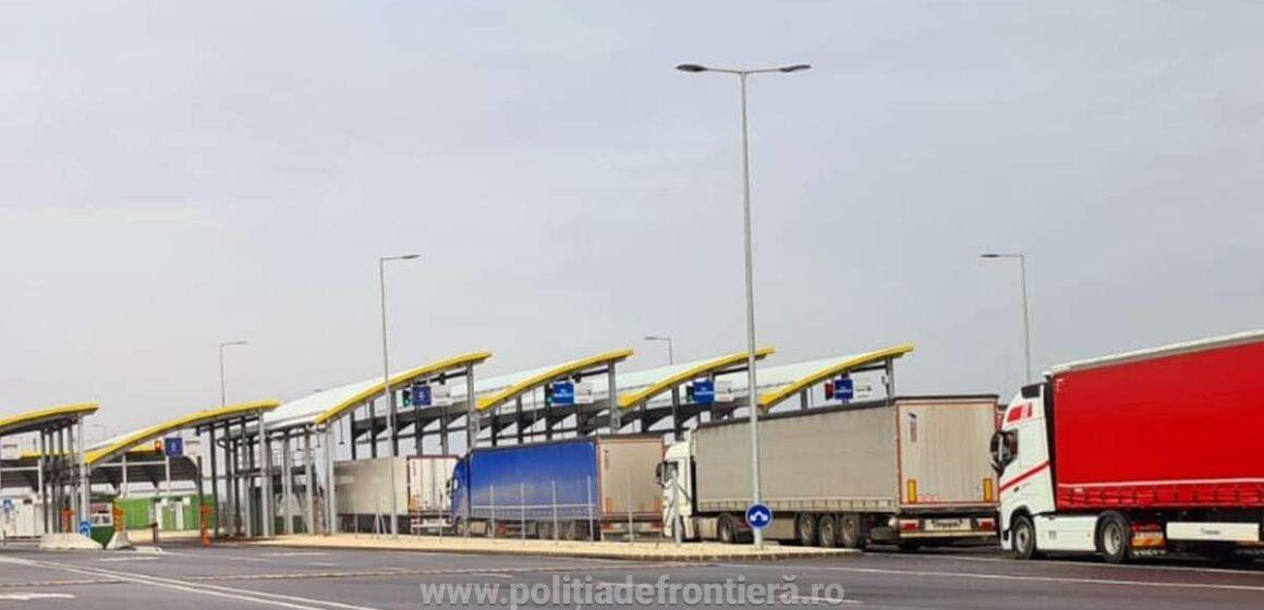VIDEO | Valori de trafic crescute la automarfare, la graniţa cu Ungaria