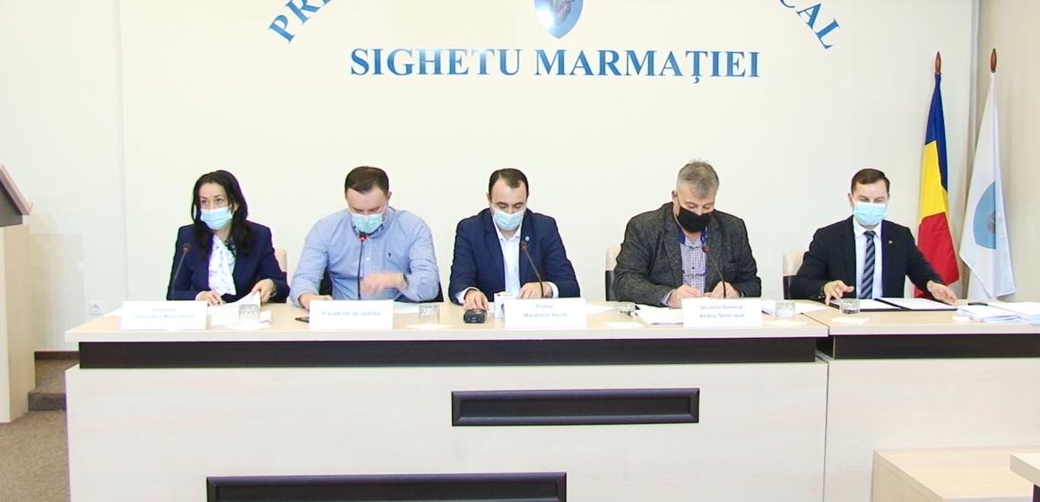 VIDEO   SIGHET: Trei consilieri locali vor face parte din componența comisiei municipale pentru organizarea circulației