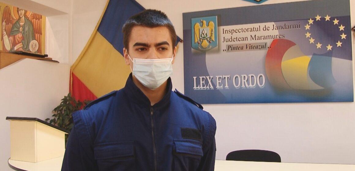 VIDEO | Studenți de la București, în stagiu de practică la Inspectoratul de Jandarmi Județean Maramureș