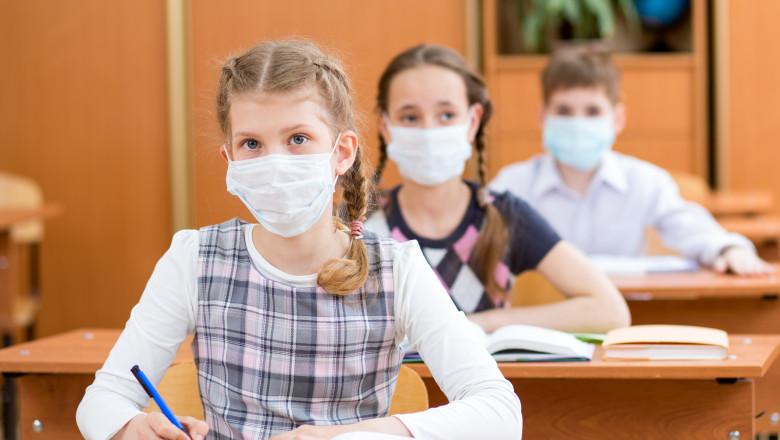 VIDEO | Ministerul Educației a publicat forma finală a formularului de consimţământ pentru testarea elevilor cu simptome de Covid
