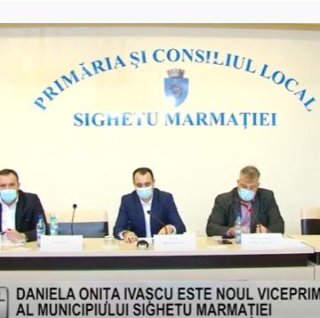 REPORTAJUL ZILEI | DANIELA ONIȚA IVAȘCU ESTE NOUL VICEPRIMAR AL MUNICIPIULUI SIGHET