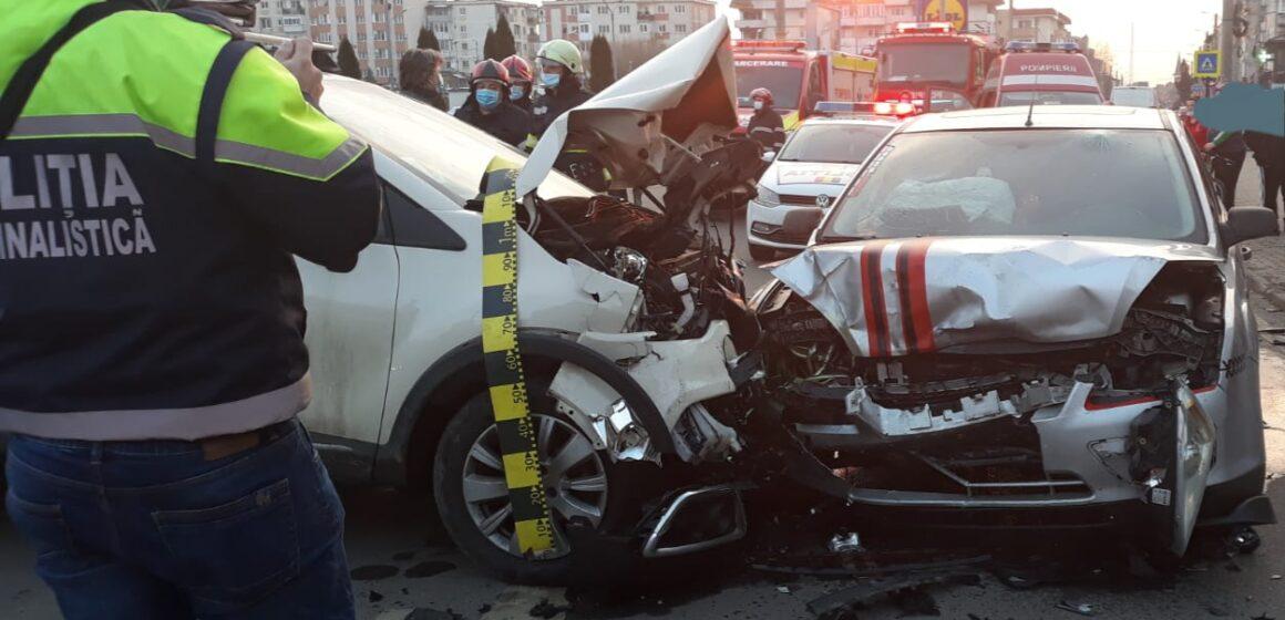 VIDEO | Accident grav în Baia Sprie
