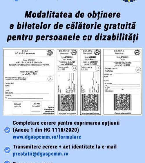 VIDEO | DGASPC Maramureș transmite prin poștă biletele de călătorie gratuită pentru persoanele cu dizabilități