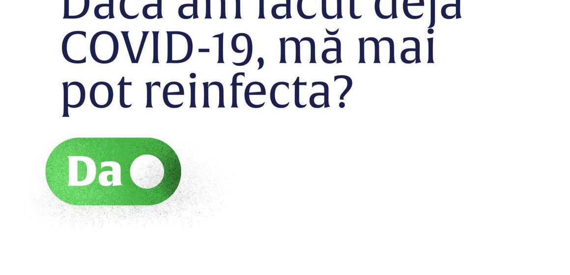 VIDEO | Dacă am făcut deja COVID-19, mă mai pot reinfecta?
