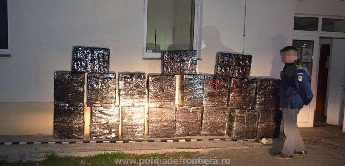 Peste 18.000 pachete cu țigări confiscate la frontiera de nord a României
