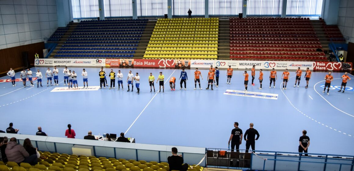 Minaur a pierdut manșa tur a sferturilor din EHF European Cup