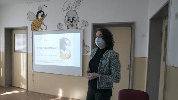 VIDEO | Proiect pentru copiii cu tulburări de dezvoltare derulat de Centrul Autism Baia Mare