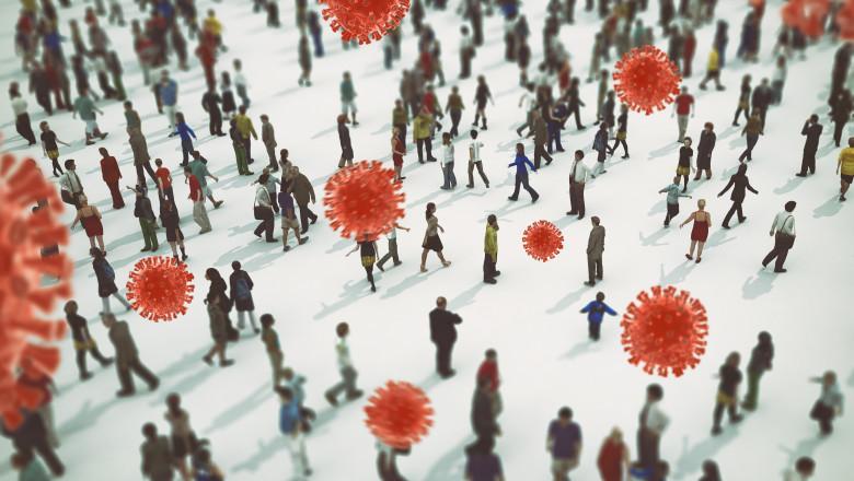 Locurile cu cel mai mare risc de infectare cu coronavirus. Concluziile unui studiu al Institutului Pasteur