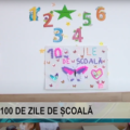 REPORTAJUL ZILEI |  100 de zile de școală, la Școala Gimnazială George Coșbuc din Sighetu Marmației