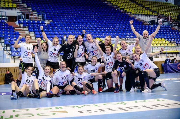 VIDEO | Sezon bun pentru echipa feminină de handbal a CS Minaur