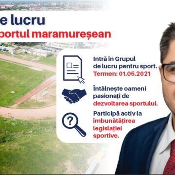 VIDEO | Brian Cristian, deputatul USR PLUS de Maramureș: Am inițiat Grupul de lucru pentru sportul maramureșean!