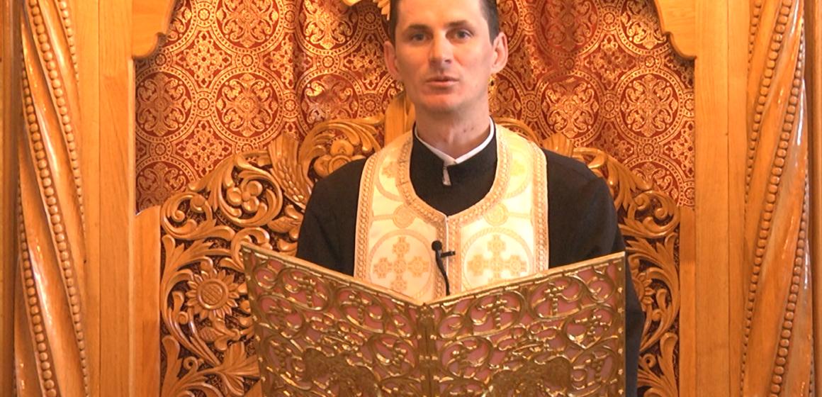 VIDEO   PROMO CUVÂNT DE ÎNVĂȚĂTURĂ   Preotul Ilie Ciuban, despre duminica Sfintei Maria Egipteanca