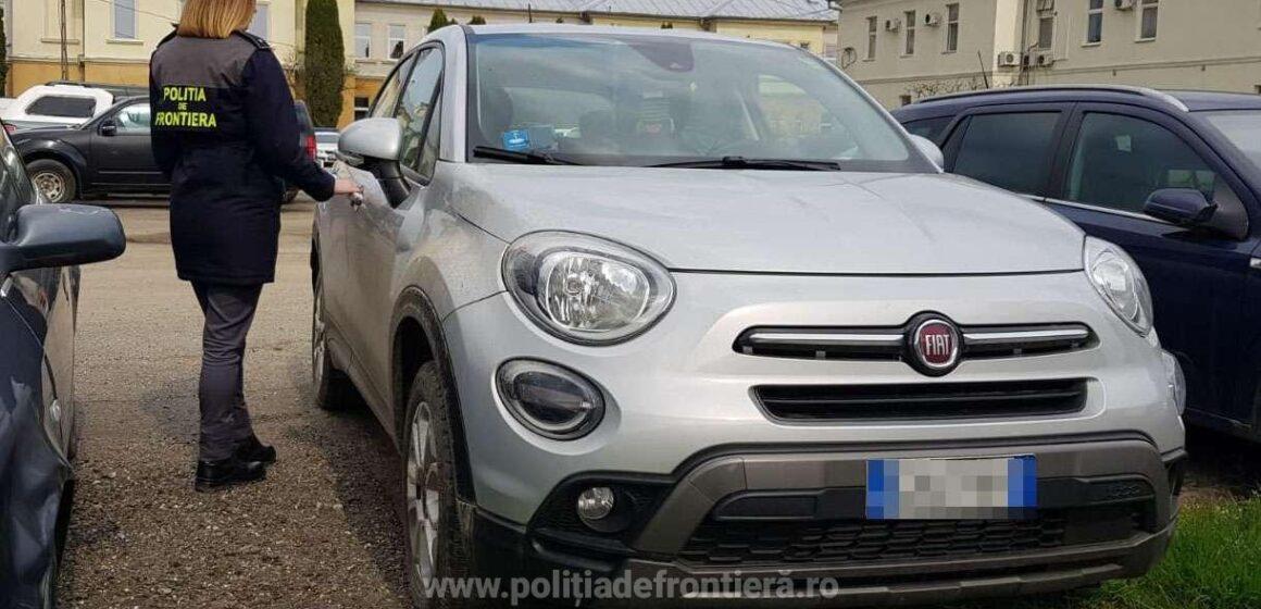 Autoturism căutat de autoritățile din Italia, descoperit în Moisei