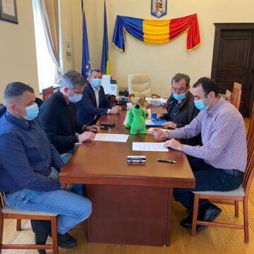 VIDEO | SIGHETU MARMAȚIEI: A fost semnat contractul de furnizare a autobuzelor electrice