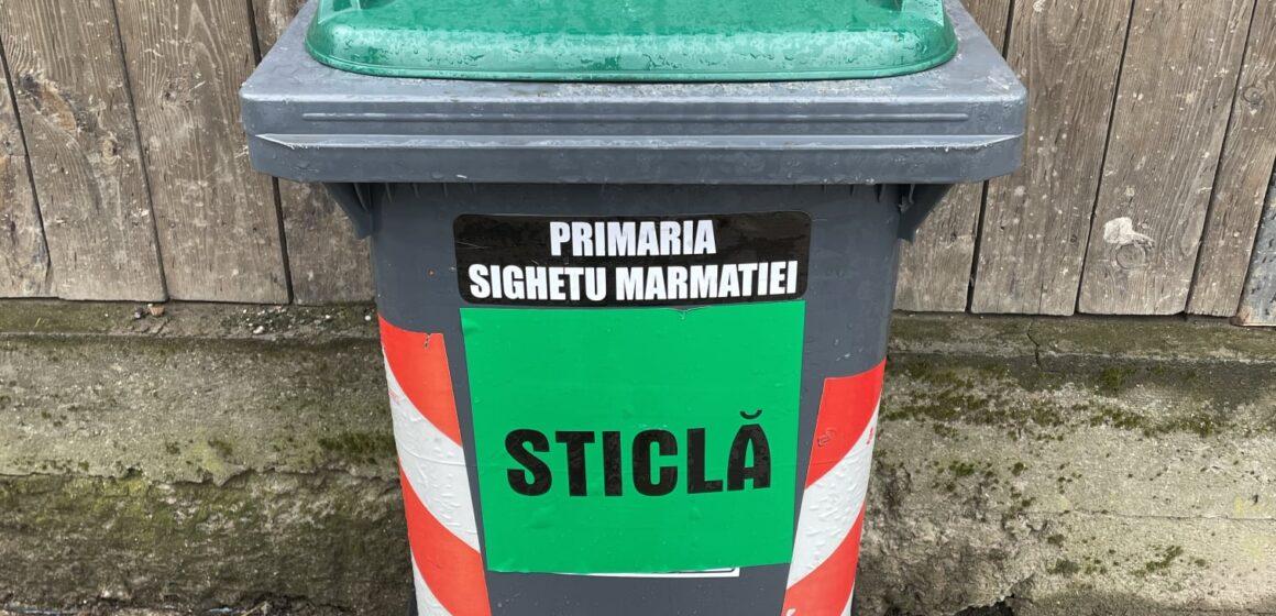 SIGHETU MARMAȚIEI: În fiecare zi de miercuri se vor colecta deșeuri de sticlă de la persoanele juridice