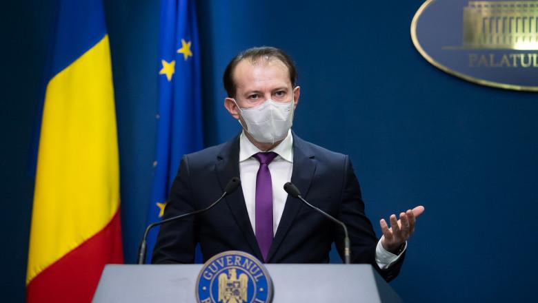 """VIDEO   Premierul Florin Cîțu: """"De la 1 iunie se poate discuta despre revenirea la normalitate"""""""