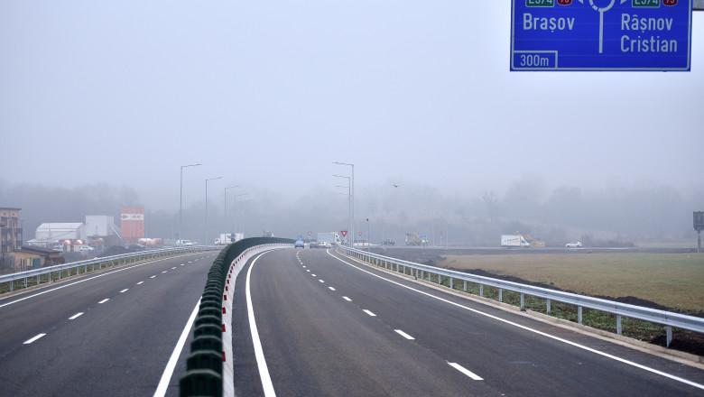 Cu câți kilometri a crescut lungimea autostrăzilor din România în 2020