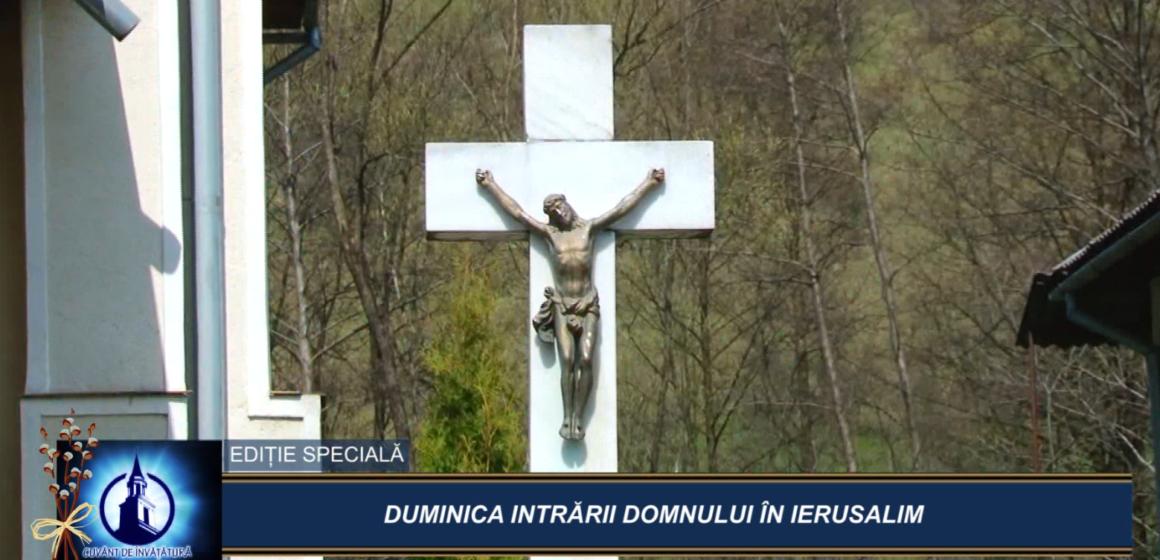 PROMO CUVÂNT DE ÎNVĂȚĂTURĂ   Preotul Marius Vișovan, despre duminica Intrării Domnului în Ierusalim