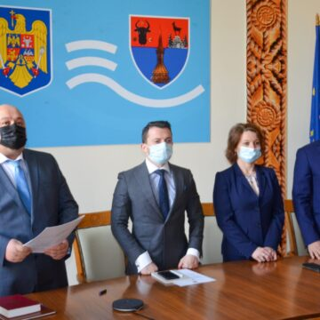 VIDEO | Liberalul Rudolf Stauder a depus jurământul în calitate de subprefect al județului Maramureș