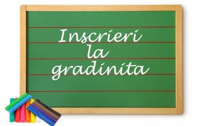 Înscrierea copiilor la grădiniță începe pe 31 mai 2021, iar reînscrierile pe 17 mai