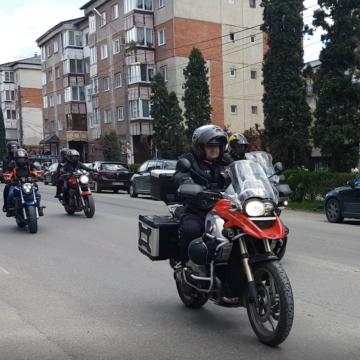 VIDEO   S-a deschis sezonul moto în Sighetu Marmației