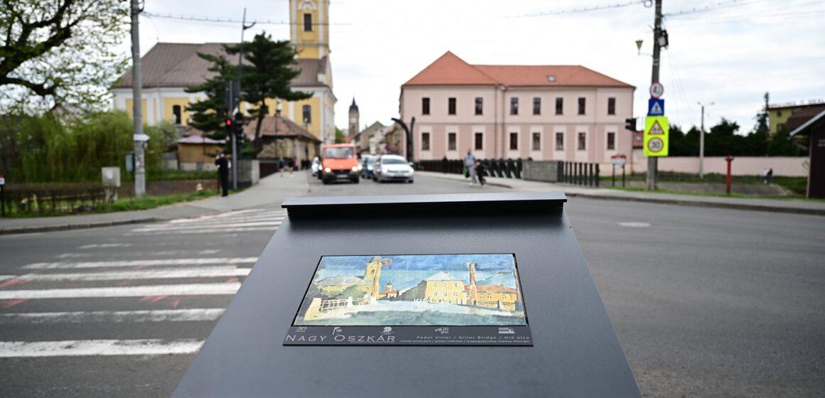 VIDEO | Panouri urbane cu replici ale unor lucrări celebre din și despre Baia Mare