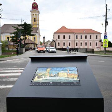 VIDEO   Panouri urbane cu replici ale unor lucrări celebre din și despre Baia Mare
