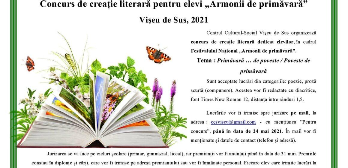 VIDEO   Concurs de creație literară dedicat elevilor