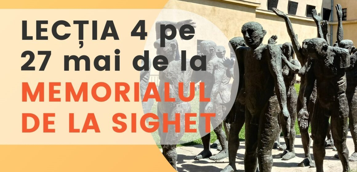 Prima lecție în direct de la Memorialul de la Sighet pentru zeci de mii de elevi din țară
