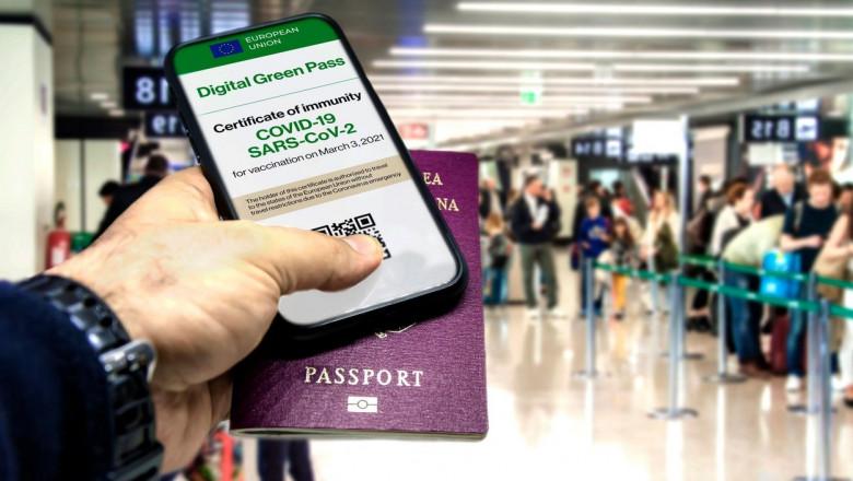 """VIDEO   """"Pașaportul Covid"""" a fost aprobat în Uniunea Europeană"""