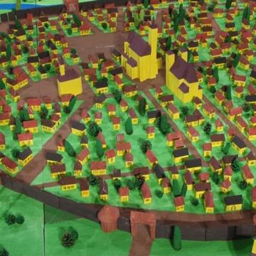 VIDEO | A fost realizată o machetă a orașului medieval Baia Mare