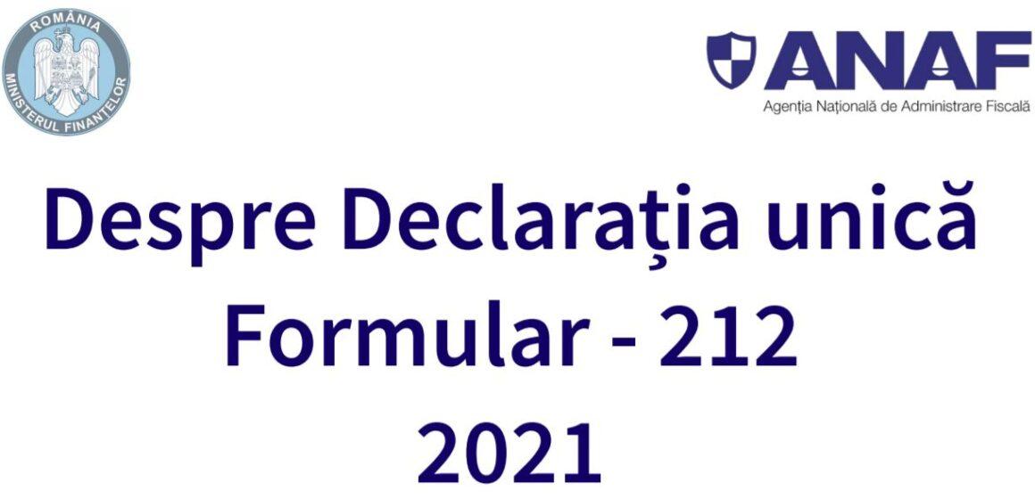 Cu sau fără bonificații, anul acesta declarația unică trebuie depusă până pe 25 mai