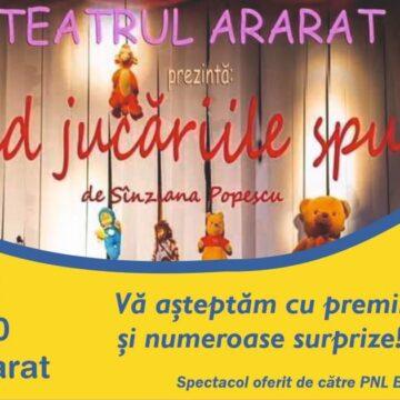 De 1 iunie, PNL Baia Mare și deputatul Călin Bota le oferă un spectacol de teatru și multe surprize copiilor maramureșeni