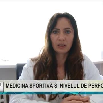 REPORTAJUL ZILEI | MEDICINA SPORTIVĂ ȘI NIVELUL DE PERFORMANȚĂ