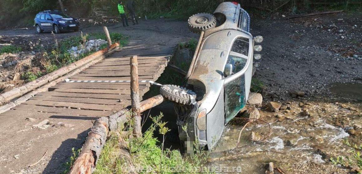 MARAMUREȘ: Șofer oprit cu focuri de armă