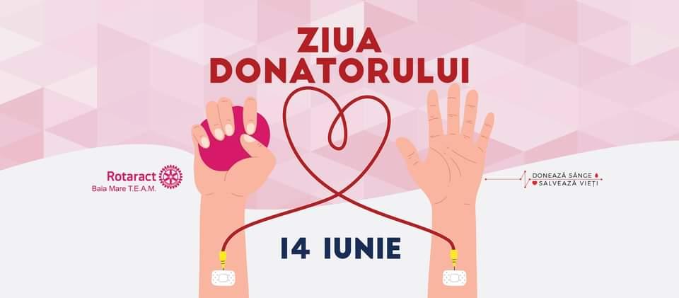 În 14 iunie se celebrează Ziua Mondială a Donatorului de Sânge