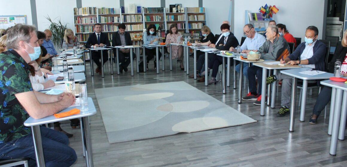 VIDEO   Întâlnirea Consorțiului Regional Nord-Vest. La activitate au participat inspectorii școlari generali din regiune