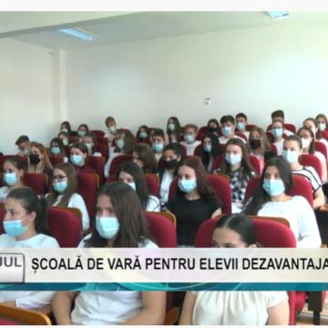 REPORTAJUL ZILEI | ȘCOALĂ DE VARĂ PENTRU ELEVII DEZAVANTAJAȚI SOCIAL