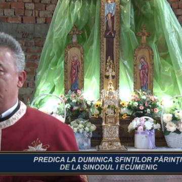 CUVÂNT DE ÎNVĂȚĂURĂ | PREDICA LA DUMINICA SFINȚILOR PĂRINȚI DE LA SINODUL I ECUMENIC