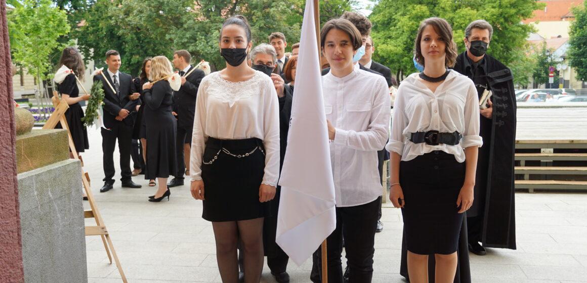 FOTO | Absolvenții Liceului Teoretic Németh László au fost binecuvântați de preoții mai multor confesiuni