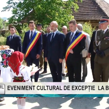 REPORTAJUL ZILEI   Eveniment cultural de excepție la Berbești