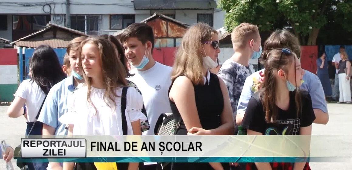 """REPORTAJUL ZILEI 25 iunie 2021   Final de an școlar la Școala Gimnazială """"George Coșbuc"""" din Sighetu Marmației"""