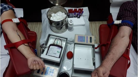 O nouă campanie de donare de sânge încheiată cu succes!