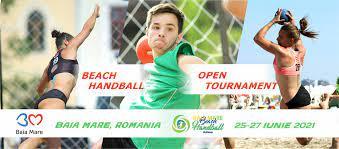 VIDEO   Turneul Beach Handball Challenge, handbal pe plajă la Baia Mare