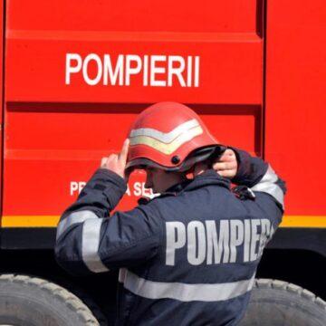 VIDEO | Apartament cuprins de flăcări în Sighetu Marmației
