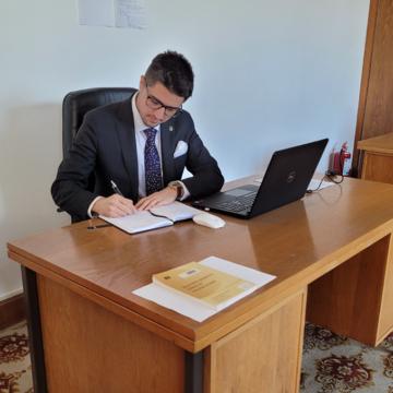 VIDEO | Brian Cristian, deputat USR PLUS, presiuni la Ministerul Tineretului și Sportului pentru investiții în bazele sportive din Baia Mare