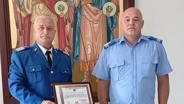 Trecere în rezervă la Jandarmeria Maramureș