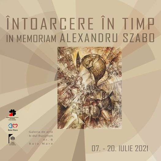 Expoziție comemorativă al regretatului pictor din Vișeu de Sus Alexandru Szabo
